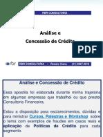 Análise de Crédito Curso Apostila