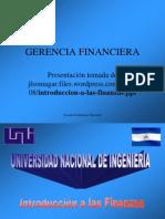 Introduccion a Las Finanzas 1