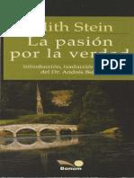 Edith Stein - La Pasión Por La Verdad.