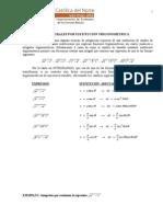 Guia 3 Integrales Sustitucion Trigonometrica