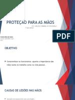 Dss - Proteção Para as Mãos