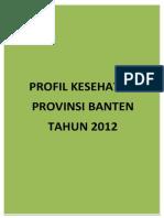 16 Profil Kes.prov.Banten 2012