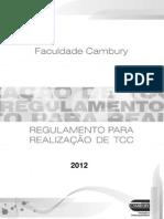 RegulamentoParaRealizacaoDeTCC-2012