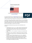 Brief Introduction of American Flag