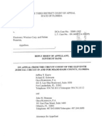 Appellant's Reply Brief (09/30/2009)