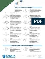 122 Rh Phospholanes Catalysts T