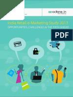 RAI-Octane India Retail E-Marketing Study 2013