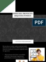 Fases Del Proyecto Arquitectonico