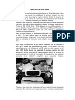 Historia de Publisher