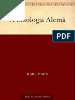 A Ideologia Alema - Karl Marx