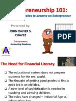 Entrepreneurship Seminar - Jun 2013