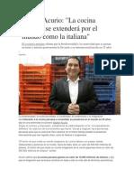 Gastón Acurio Info Ppt,....