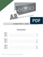 038567 Echo A2 Lexique Francais Arabe