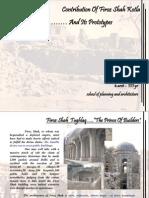 Contribution of Firoz Shah Kotla