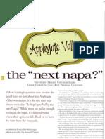 """The """"Next Napa ?"""""""
