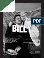Billy Numero 16 9 Novembre