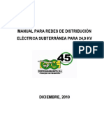 Manual Redes de Distribucion Subterranea 2010