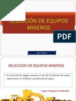 3- Selección de Equipos Mineros