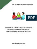 Actividades Enriquecimento Curricular 09-10 Final
