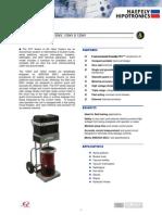 Data Sheet Hipotronics 100HTV [Redes Energizadas]