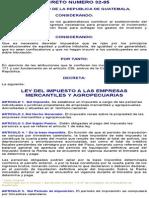 Ley Del Impuesto a Las Empresas Mercantiles y Agropecuarias