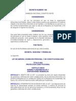 Ley de Amparo, Exhibición Personal y de Constitucionalidad