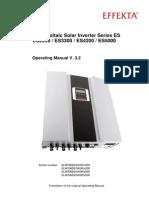 BA Photovoltaik Wechselrichter ES v-3-2 GB