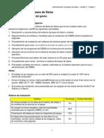 Administracion de Bases de Datos - U2 - T1