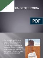 Energia Geotermica Desarollo Sustentable