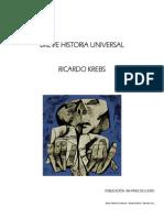 Breve Historia Universal Ricardo Krebs Editado