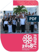 Revista de la Comisión de Investigación de FIMPES  2008