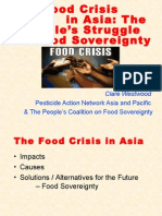 Impact of Food Crisis in Asia (CW)