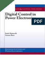 Controle e Eletrônica de Potência - Digital Control in Power Electronics - Simone Buso