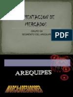 Segmento de Mercado de Los Areuipes Ares a Bores