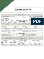 HOJA DE VIDA PC