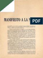 Madero Manifiesto Anti-reeleccionista