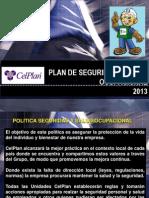 Difusion Del Plan Sso y Ma_celplan