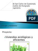 Presentacion Proyecto Viviendas Ecologicas