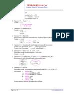 Pemrograman C++  02