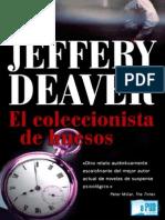 El Coleccionista de Huesos Jeffery Deaver
