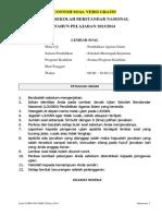 Contoh Soal Usbn Pai Smk Tahun 2013_2014 Versi Gratis