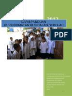 Garispanduan Pemeriksaan Kesihatan Sekolah