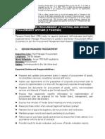 Job Advert - Procurement (1)