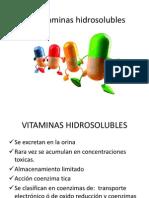 Vitaminas Hidrosolubles Quimi. Alim