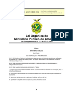 AM - Lei Orgânica Do MP
