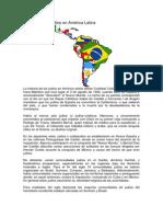 Historia de Los Judíos en América Latina