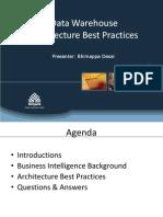DWH Architecture Best Practicies