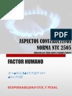 Aspectos Constructivos Ntc 2505 Sye 20140515