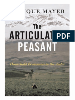 The Articulated Peasant Household Economies in the Andes