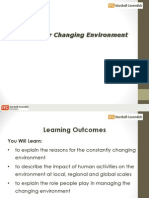 managing our changing env